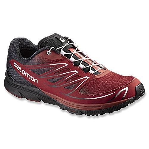 Salomon Mens Sense Mantra 3 Trail Running Shoe Pulce / Nero / Pulce