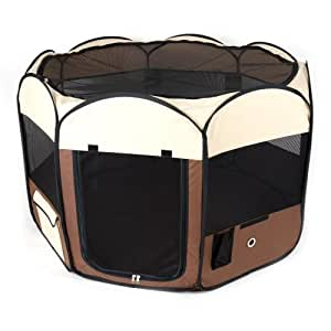 Ware Manufacturing Deluxe Pop Up Dog Playpen, Medium