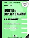 Inspector of Carpentry and Masonry, Jack Rudman, 0837303656