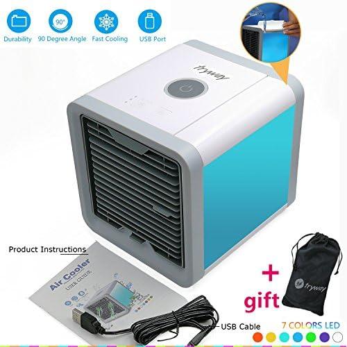 Trymway - Enfriador de aire portátil para el hogar, la oficina ...