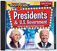 Presidents & U.S. Government Audio CD with Printable Book by Rock '