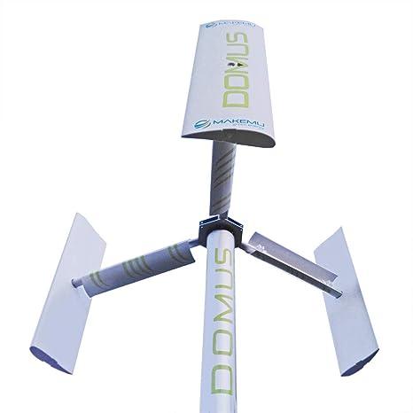 Nuovo Generatore eolico domestico DOMUS PLUS piccola mini micro pala ...