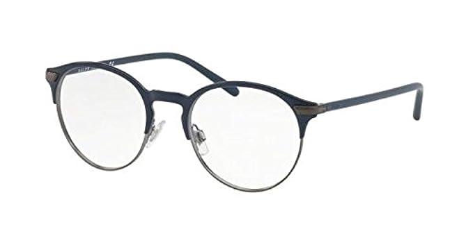 Ralph Lauren POLO 0PH1170 Monturas de gafas, Matte Blue, 49 para ...