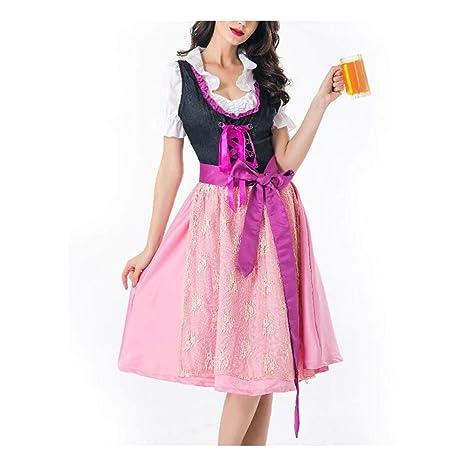 ZSRHH-Falda Vestido de Mujer Papel de Servicio de Halloween ...