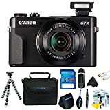 Canon PowerShot G7 X Mark II Digital Camera + Pixi-Basic Accessory Kit- International Version