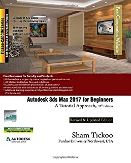 autodesk 3ds max 2017 for beginners a tutorial approach prof sham rh amazon com 3DS Max House 3DS Max Icon