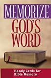 Memorize God's Word, Moody Press Editors, 0802467911