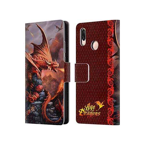 Age Of Dragons Leather Book Wallet Case
