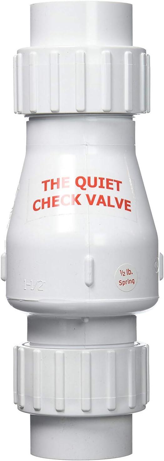 "Zoeller 30-0040 1.5/"" PVC Quiet Union Check Valve"