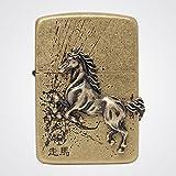 Zippo 1941 走馬 Ba Lighter Made in USA / South Korea Version Galloping Horse
