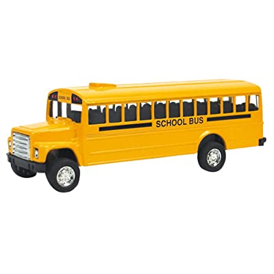 Schylling Die-Cast Bus, Pull-Back DCB: Toys & Games