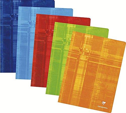 Clairefontaine Metric 3371C- Quaderno trapuntato 24 x 32 cm,120 pagine, Tessere grandi, Colori assortiti, 1 pezzo C Rhodia Jardinage
