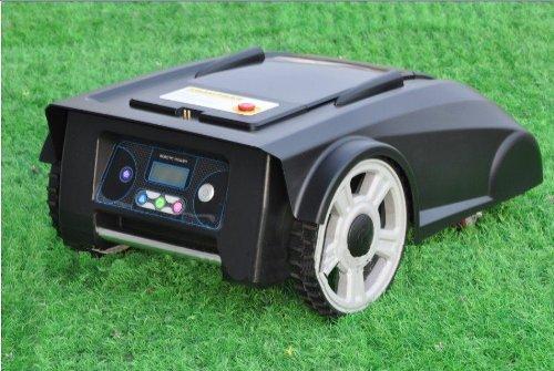 Auto Robot Lawn Mower 2012 Newest Model 200m Virtual Wire & 200pcs Pegs 2900 Lithium Battery Robot...