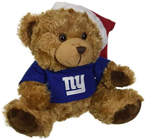 (New York Giants Bear With Santa Hat)