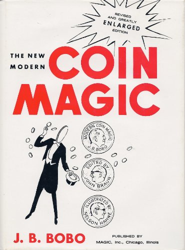 Modern New Coin Magic Book - The New Modern Coin Magic (revised and Greatly Enlarged edition)