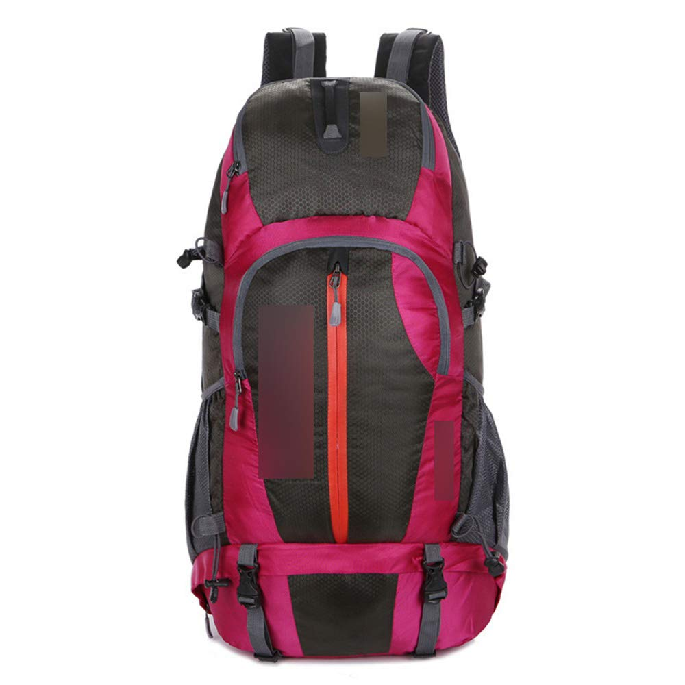 JITALFASH Professional Climb Backpack Outdoor Travel Camp Equip Hiking Gear Mountaineering Bag Red 30-40L