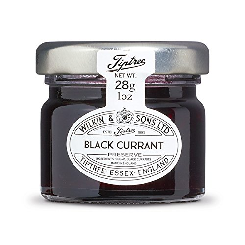 - Tiptree Black Currant Preserve Minis, 1 Ounce (Pack of 72)