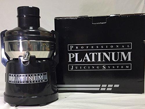 Omega O2110 Platinum O2 1/3-Horsepower Continuous Pulp-Ejection Juicer O2110P (Platinum)