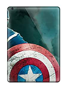 Top Quality Case Cover For Ipad Air Case With Nice The Avengers Captain America Appearance