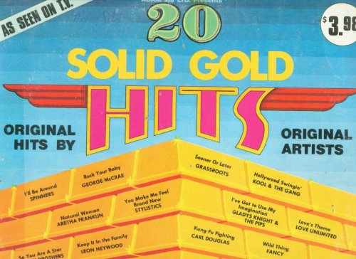 Fancy - [lp Record] 20 Solid Gold Hits, - Original Hits By Original Artists - Zortam Music