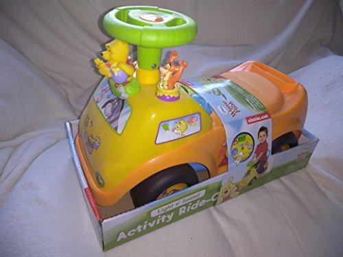 - Light n' Sound Disney Winnie the Pooh Activity Ride On - Gears by Kiddieland Toys