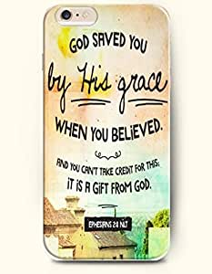 Case Cover For SamSung Galaxy S3 Hard Case **NEW** Case with the Design of God saved you by His grace when you believed. And you can't take credit for this;it is a gift from God. Ephesirns 2:8 NLT - Case for iPhone Case Cover For SamSung Galaxy S3 (2014) Verizon, AT&T Sprint, T-mobile