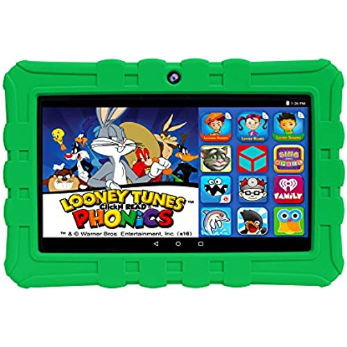 EPIK Learning Tab, 7 Kids Touchscreen Tablet Featuring Android 5.1 OS, Looney Tunes Phonics, 16GB Intel Quad Coupons