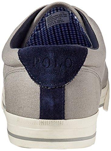 Polo Ralph Lauren Mænds Vaughn Sneaker Grå qVRhTNpg