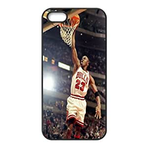 Custom High Quality WUCHAOGUI Phone case Super Star Michael Jordan Protective Case For Apple Iphone 5 5S Cases - Case-5