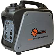 Dirty Hand Tools 104611, 1700 Running Watts/2000 Starting Watts, Gas Powered Portable Inverter Generator, EPA...