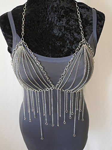 Stunning Silver Harness Necklace Jewelry