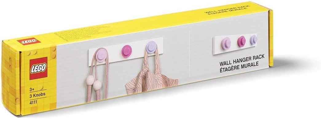Violet Chiaro LEGO Appendino a Parete Rosa Scuro Mix One Size