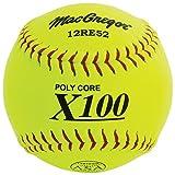 MacGregor X52RE ASA Slow Pitch Composite Softball, 12-Inch - One Dozen