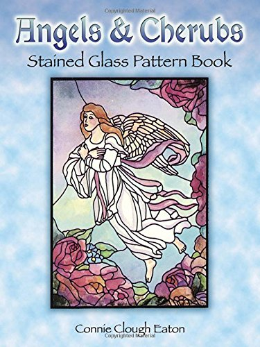 Angels and Cherubs Stained Glass Pattern Book (Dover Stained Glass Instruction) - Stained Glass Angel Pattern