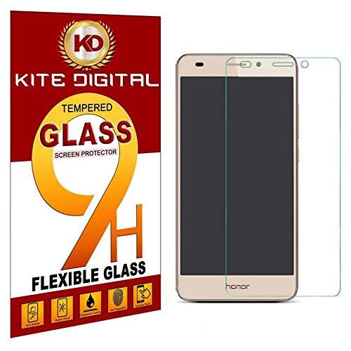 Kite Digital Huawei Honor 5C Tempered Glass Screen Protector Slim 9H Hardness 2.5D Screen Protectors
