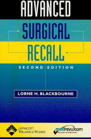 Advanced Surgical Recall (Recall Series)
