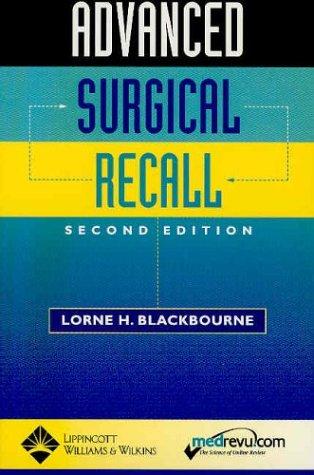 Advanced Surgical Recall (Recall Series)