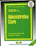 Administrative Clerk, Jack Rudman, 0837320143