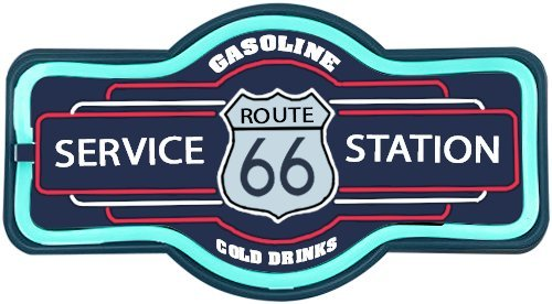 Route 66 Service Station Sign, 16