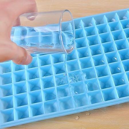 Bandeja para cubitos de hielo de cocina, molde para hacer hielo ...
