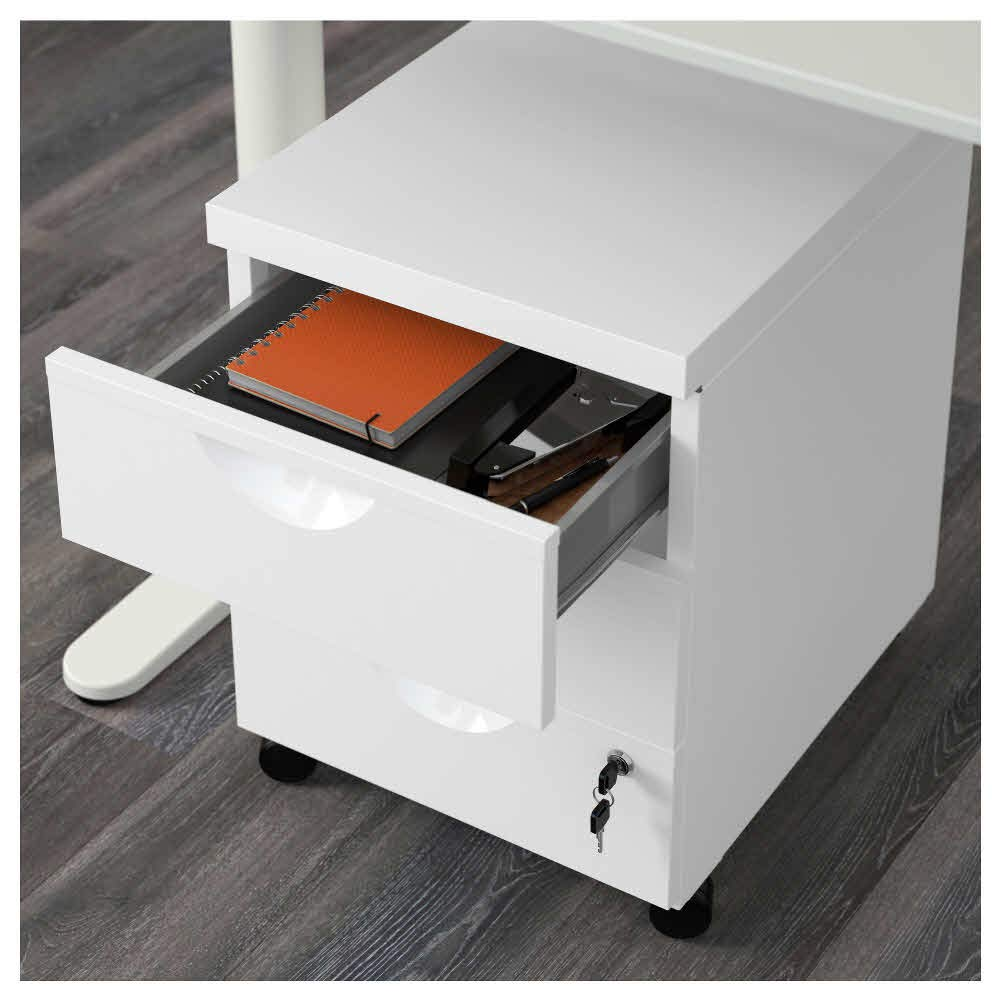 Amazon.com: IKEA ASIA Erik Drawer Unit w 3 Drawers on ...