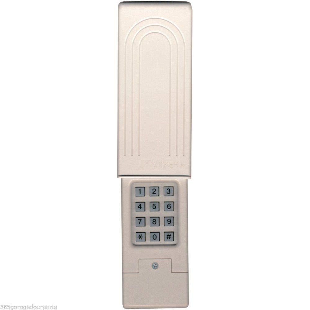 Liftmaster Chamberlain Universal Keyless Entry Klik2u Clicker Garage Door Opener Wiring Also Moore O Matic Compatible 387lm