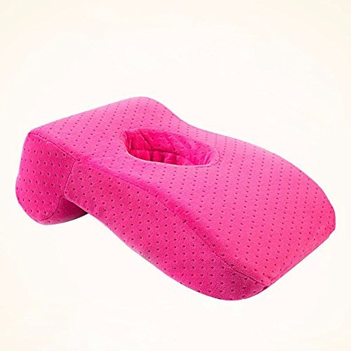 HOMEE Afternoon Nap Artifact Office Was Sleeping Pillow Only Afraid of Restraint Students Slept Pillow Lunch Break Pillow Classroom Desks Pillows, Lunch, Sleeping Pillow in Red,The Red,Lunch sleeping by HOMEE
