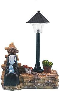 Spirited Away No Face Man Night Light Children Gift Kids Toy Home Decor Craft Decorative Sleep Lamp Chihiro Table Desk Lamp
