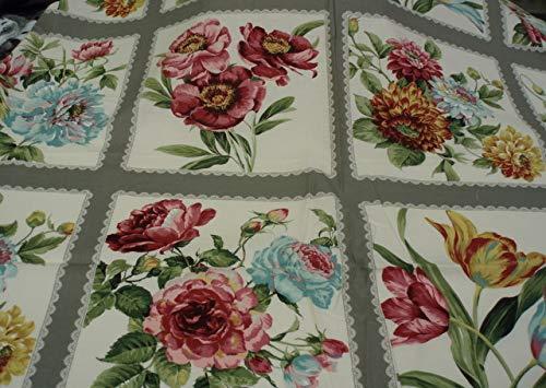 Felicty floral panel from Sentimental Studio for Moda ()