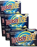 Washeze 3-in-1 Laundry Sheets Lightly Scented 60 Loads Great For Busy Moms