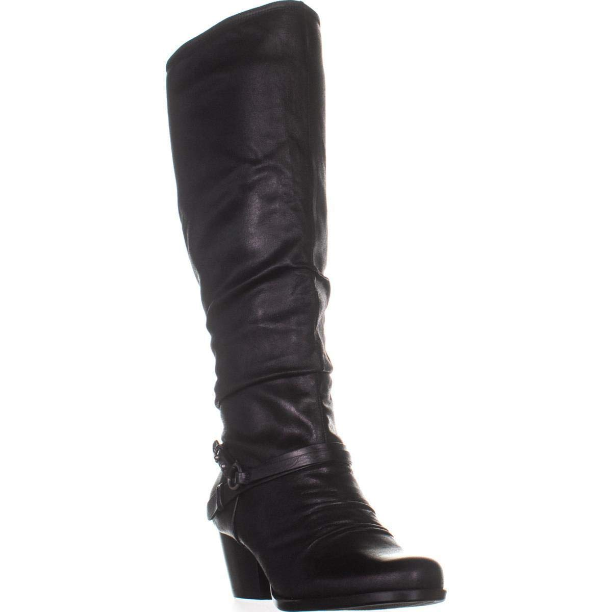 Brush Brown Bare Traps Womens Roz Fabric Almond Toe Knee High Fashion Boots