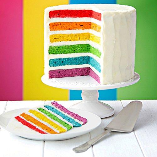 12 Color Cake Food Coloring Liqua-Gel Decorating Baking Set - U.S. Cake Supply .75 fl. Oz. (20ml) Bottles Primary Popular Colors by U.S. Cake Supply (Image #4)