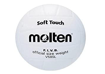 Molten balón Volley Soft Touch, impermeable 18 - Official f.i.v.b. ...