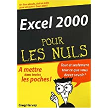 EXCEL 2000 POCHE POUR LES NULS